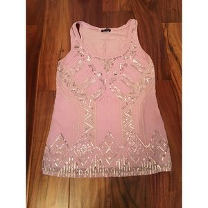 Express Sequin Tank— Sz XS — never worn!